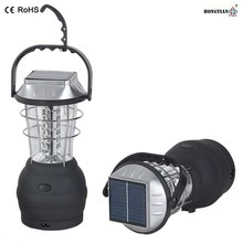 portable led camping ce rohs solar hand cranking dynamo lantern with USB charger