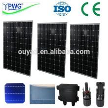 New Energy monocrystalline polycrystalline silicon solar panel 3w-300w