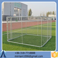 galvanized dog use anti-rust High quality metal dog kennels cages