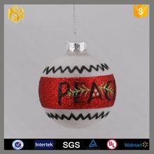 New popular glass ball christmas tree decoration supplies