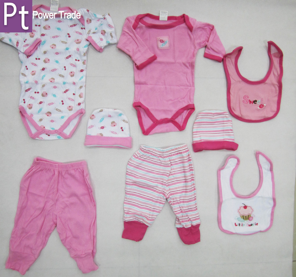 Newborn Baby Clothes Gift Set/baby Wear/infant Garment/new Born Baby ...