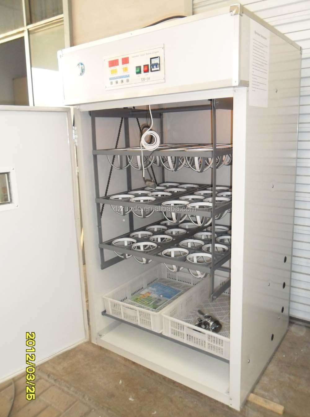 ce aprovado automática de avestruz incubadora de ovos para venda