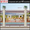 2015 New product outdoor Decorative Wrought Iron fence /iron pickets /aluminum fence design