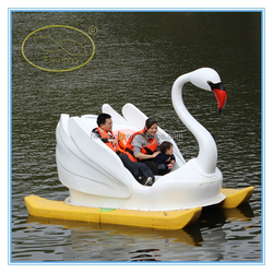 Amusement Park Equipment Kids and Adult Water used pedal boats for sale
