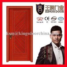 Fancy design Internal solid wooden doors KSN-028