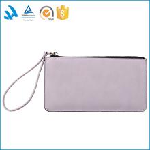 Wristlet, Simple Clutch Bag, Linen Clutch, Neutral, Natural Linen and Leather Bag for Women, Simple Purse, Handbag