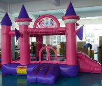 Princess bouncer castle,bouncy castle with double slide,Jumping castle