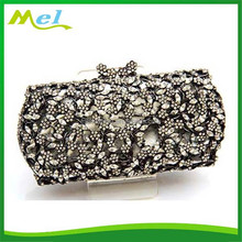 indian diamante animal shaped clutch bag