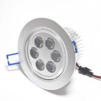 shenzhen factory indoor ce rohs 6led 100-240v 6w movable ceiling light fixture