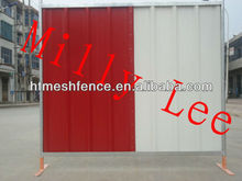 Galvanised Channel hoarding combines Steelwall colorbond panel fence professional manufacture