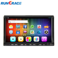 Luxury indash universal gps dvd wifi android 6.2 inch car mp4 player