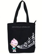small cotton tote bag/ promotional heavy cotton canvas tote bag