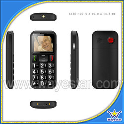 """Wholesale Low End 1.77"""" Screen Big Keyboard Senior Phone for Old People"""