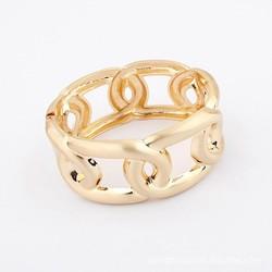 2015 Best seller rubber mens stainless steel chain bracelet link bangle wristband