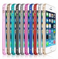 Round edge aluminum metal bumper case for iphone 5s,for iphone bumper case