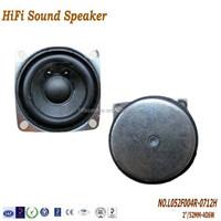 2Inch 52mm 4ohm 6W High quality Multimedia Speaker