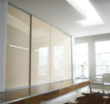 High gloss wardrobe with modern design made in China