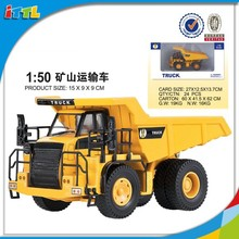 New item high quality 1:50 scale metal engineering truck model