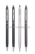 Metal twist action ball pen slim/Metal twist pen slim/Metal twist ballpoint pen slim