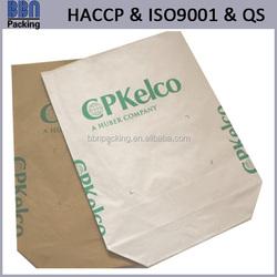 kraft paper block bottom bag