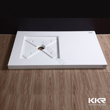 KKR New Design shower trays mixture of resin and stone