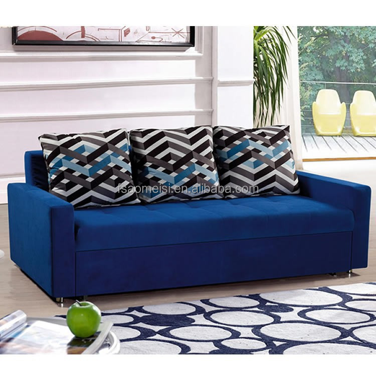 Modern Wooden Sofa Bed : ... modern wooden functional sofa design lounge sofa leisure folding sofa