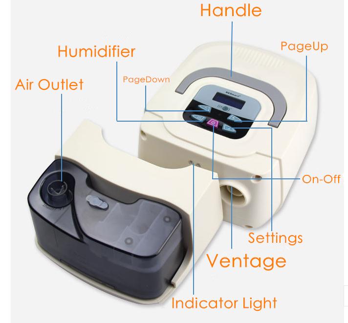 humidity cpap machine