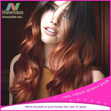 Fashion body wave wholesale 5a 6a 7a 8a fusion extension ombre color hair extensions