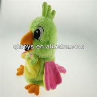2013 talk back parrot toy,shenzhen plush toys for kids