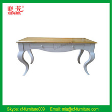 China supplier newest solid wood slab tables, home furniture slab tables, slab tables new product