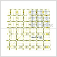 Kearing brand patchwork ruler,patchwork fabric packs,garment grading ruler handicraft #KPR65D