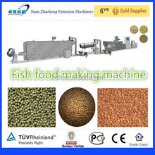 2012 Best seller wide output range automatically fish food machine