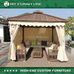 KD summer rattan gazebo tent house