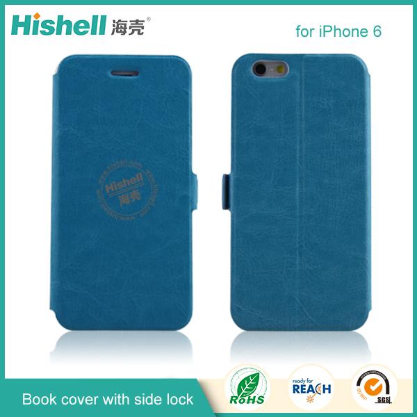 Pu étui en cuir pour Iphone 6, Mode téléphone Mobile étui en cuir