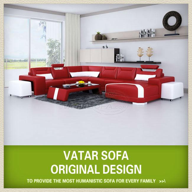 Muebles wengue sofa rojo 20170820224921 - Muebles de salon contemporaneos ...