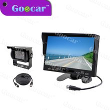 Truck bus rear view camera with PIP TFT LCD monitor custom available