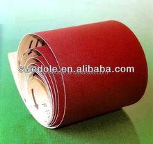 C/D/E aluminum oxide abrasive polishing sanding paper jumbo roll