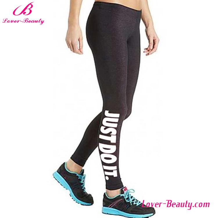 serr personnalis sport lettres femmes imprim leggings fitness v tements de yoga id de. Black Bedroom Furniture Sets. Home Design Ideas