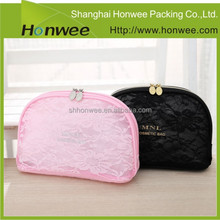 promotional fashion cheap large cosmetic bags with compartments