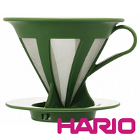HARIO V60 coffee Paperless Green dripper 1~4 cups for ceramic coffee pot