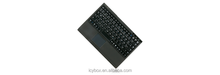 Wireless RF mini keyboard with a built-in 1000 dpi touchpad, a scroll page area and 2 mouse buttons