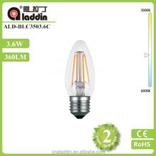 Decorative 4W C35 Candle Edison LED Filament Bulb For House
