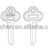 Building key/lock with key/designer key blanks