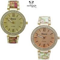 Trend design quartz watch Intimes Romantic looking with crystal Japan movt quartz watch
