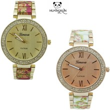 Trend design quartz watch Intimes Romantic looking with crystal Japan movt quartz watch