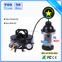 20m/30m/50m/100m Customized Night Vision Underwater 360 Degree Deep Water Camera