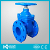 DIN soft seal flange gate valve for water pipe