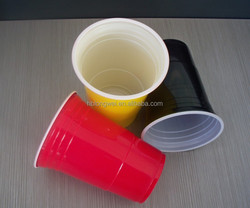 16oz plastic disposable colored cups for beer