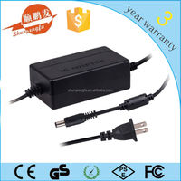 12V 4A double cord AC/DC universal adaptor