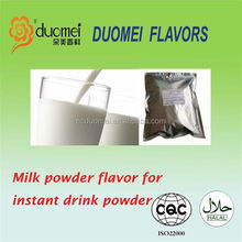 Nature and pure milk powder flavor essence for instant beverage